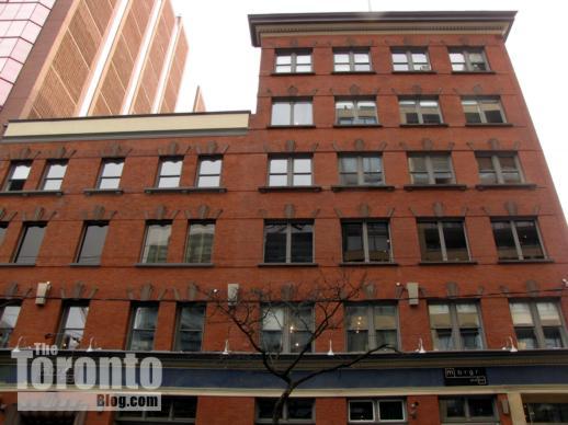 401 - 409 King Street West heritage building