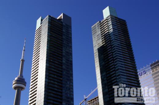 CN Tower Maple Leaf Square Telus Tower