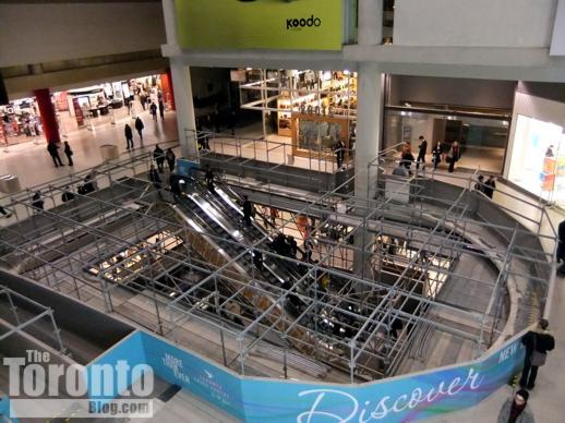 Toronto Eaton Centre interior