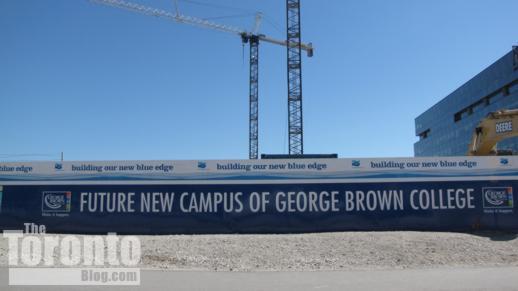 George Brown College waterfront campus