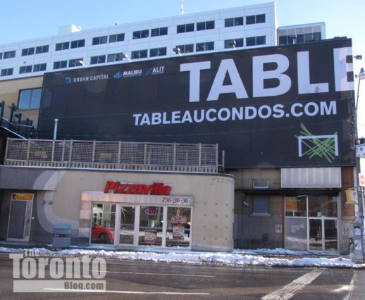Tableau condos location