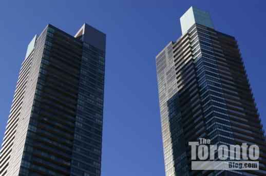 Maple Leaf Square condo towers