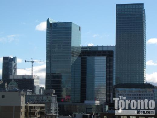 RBC Centre Simcoe Place and Ritz Carlton Toronto