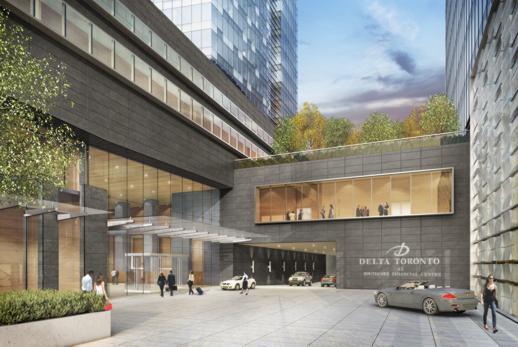 Delta Toronto hotel tower