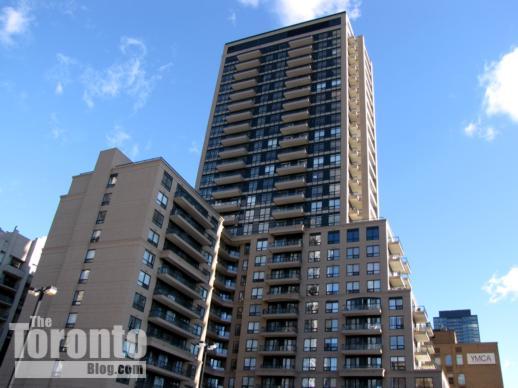 Bloor Street Neighbourhood condo tower