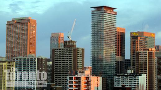 Toronto's Bloor Yorkville skyline