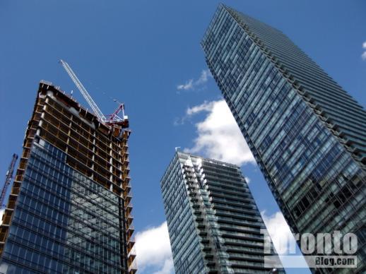Burano and Murano condo towers on Bay Street