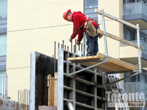 Charlie Condos construction progress
