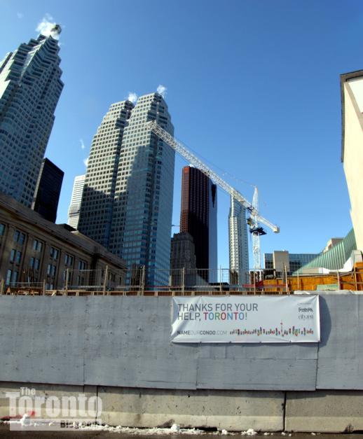 LTower condo construction site