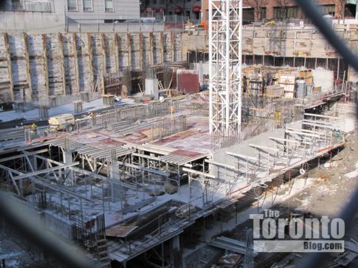 Couture Condominium tower construction
