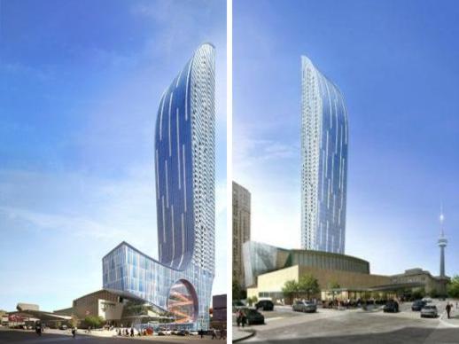 L Tower condo tower renderings