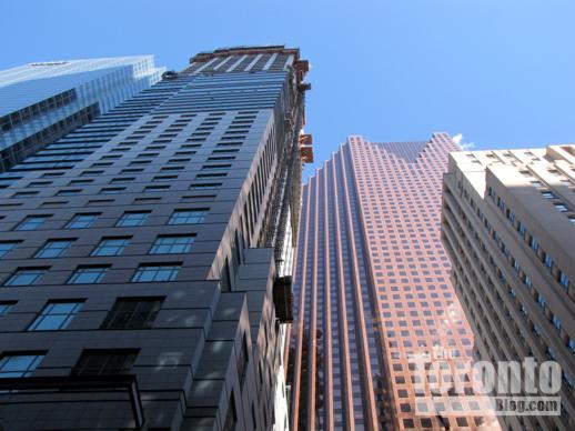 Toronto Trump Tower and Scotia Plaza