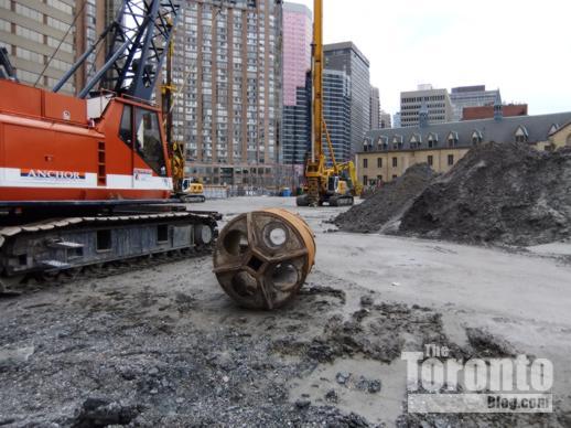 U Condos construction site