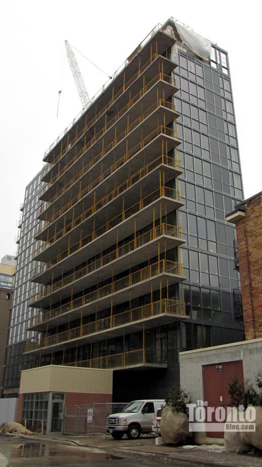 Victory Condos construction progress