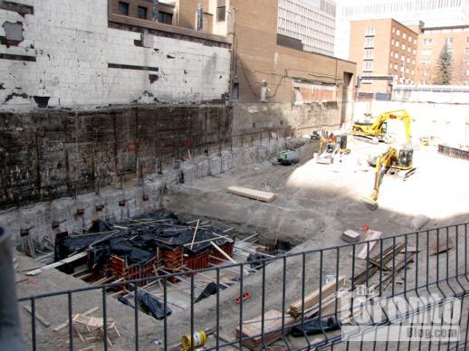 Women's College Hospital construction