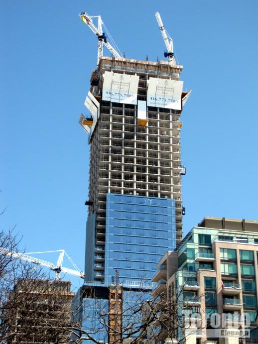 Four Seasons Hotel & Residences Toronto towers