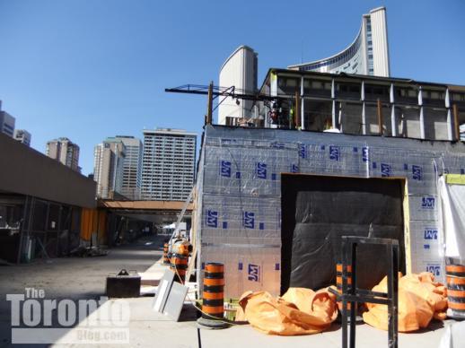 Nathan Phillips Square at Toronto City Hall