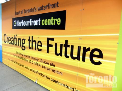 Harbourfront Centre billboard