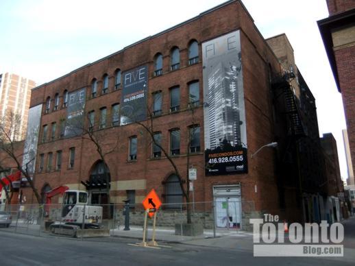 FIVE Condos site at 5 St Joseph Street