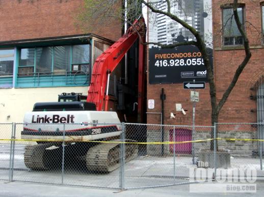 Link-Belt 290 excavating machine