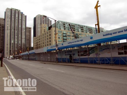 Harbourfront Centre Construction Site Hoarding Along