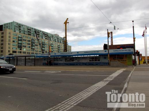 Harbourfront Centre construction site