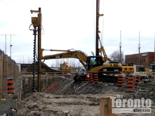 Harbourfront Centre construction