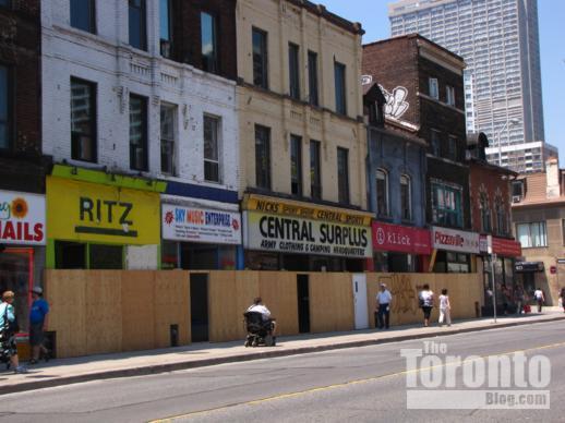 FIVE Condos site at Yonge & St Joseph Streets