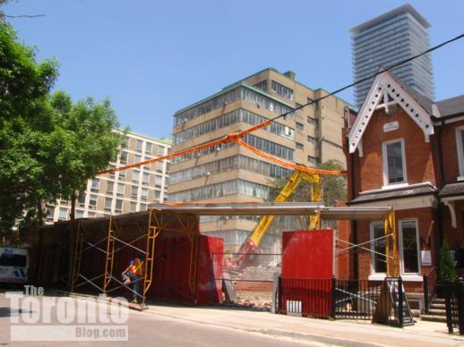 67 St Nicholas Street demolition