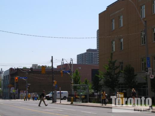159 Wellesley Street East condo tower site