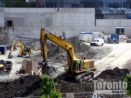 Southcore Financial Centre construction site