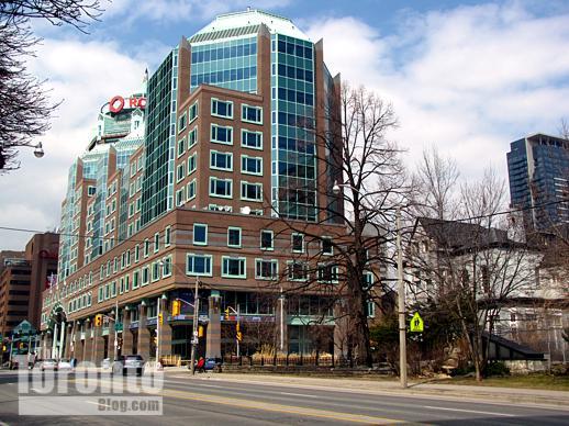 Rogers Communications head office on Jarvis Street Toronto