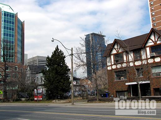 Jarvis Street near Isabella Street Toronto