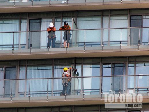 Murano north condo tower balcony inspection