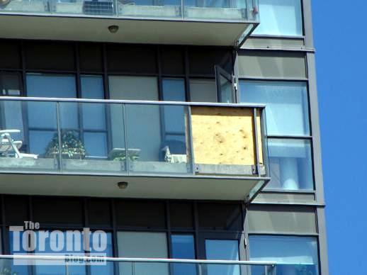 Regent Park apartment balcony