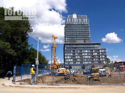 Regent Park redevelopment site