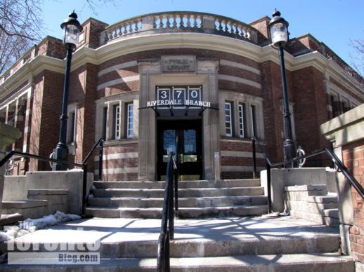 Toronto Public Library Riverdale branch