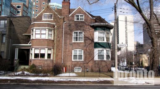 Samuel R Wickett House at 122 & 124 Isabella Street