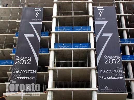 77 Charles West condos Toronto