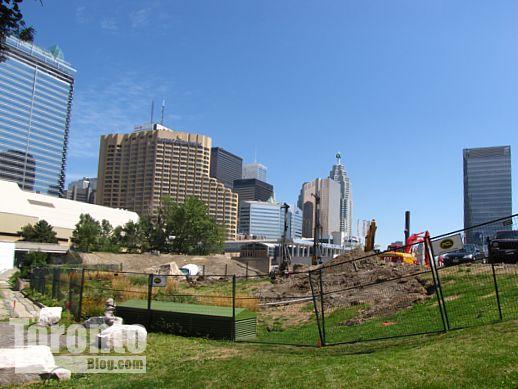 Ripley's Aquarium Toronto construction site