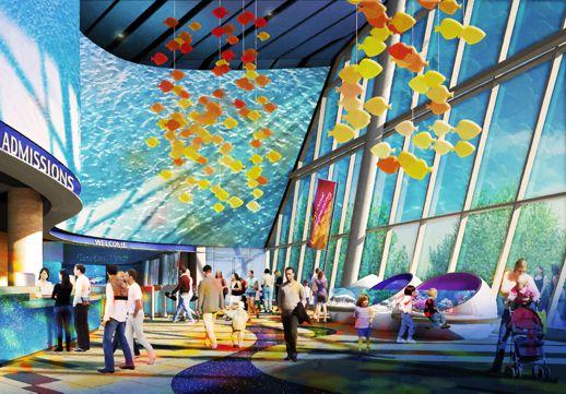 Ripley's Aquarium main lobby