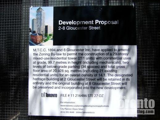 2 Gloucester Street Toronto