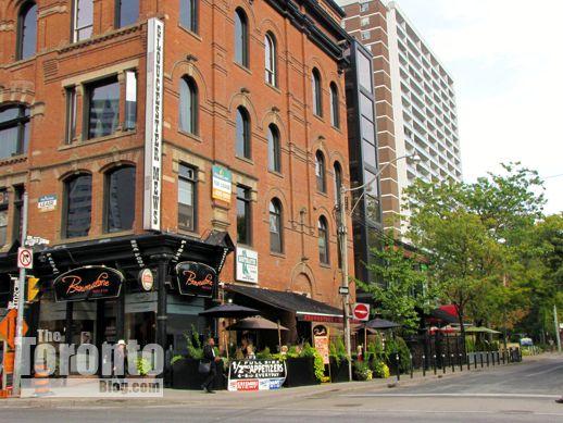 Northeast corner of Yonge & Gloucester Streets Toronto
