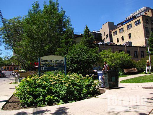 Norman Jewison Park Toronto