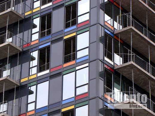 Paintbox Condominiums at Toronto's Regent Park