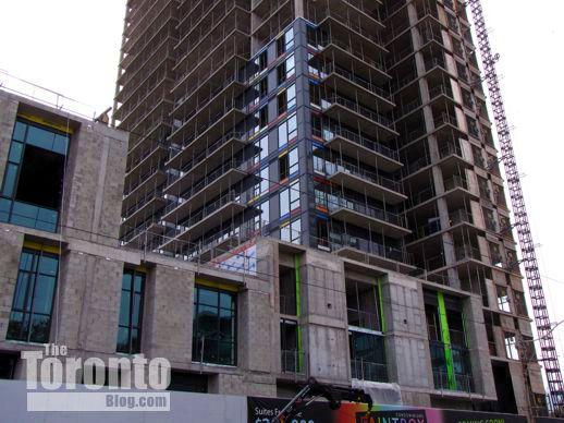 Regent Park Arts & Cultural Centre and Paintbox Condominiums