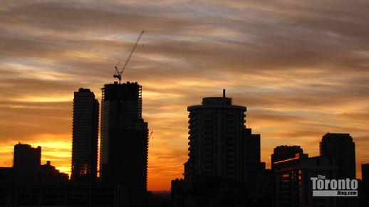 Burano condo at sunset