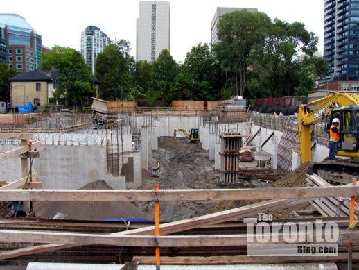 ETFO Toronto  office building construction