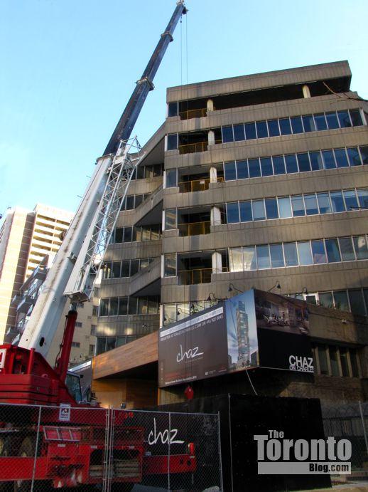 Chaz condo site Toronto