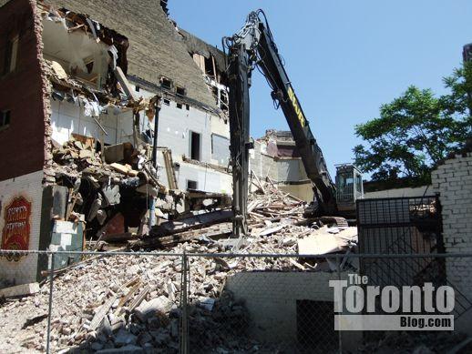 19 St Joseph Street Toronto demolition